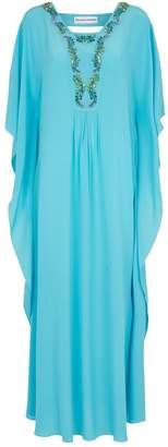 Maryan Mehlhorn Embellished Maxi Kaftan