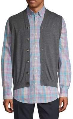 Brunello Cucinelli Wool & Cashmere Buttoned Vest