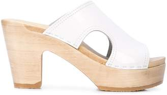 NO.6 STORE Alexis cut-out side heeled sandals