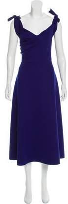Saloni Sleeveless A-Line Dress