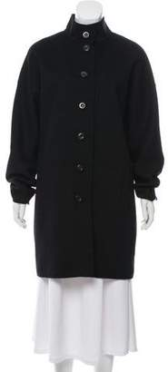 Kinross Cashmere Wool Knee Length Coat
