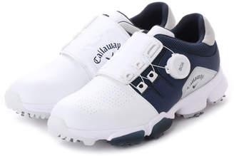Callaway (キャロウェイ) - キャロウェイ Callaway レディース ゴルフ ダイヤル式スパイクシューズ 18Lシューズ HYPERCHEV BOA WM 18 8983801 38