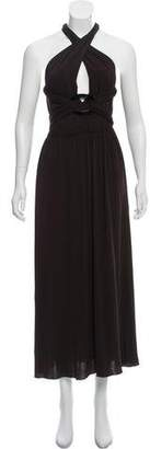 Max Mara V-Neck Midi Dress w/ Tags