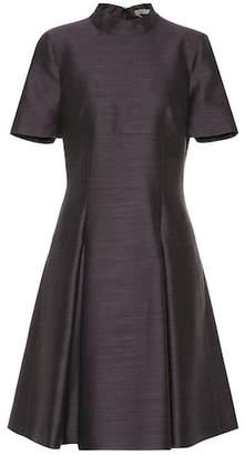 Bottega Veneta Wool and silk fil-à-fil dress