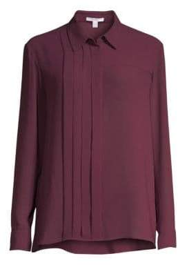 BOSS Ridesa Stretch Crepe Blouse