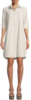 Finley Alex Easy Tab-Sleeve Shirtdress