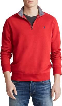 Polo Ralph Lauren Half-Zip Cotton-Blend Pullover