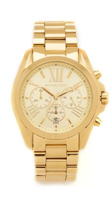 Michael Kors Bradshaw Chronograph Watch $250 thestylecure.com