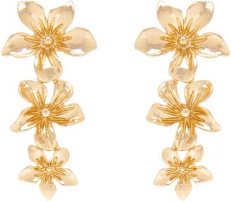 Stella Flower Long Drop Earring