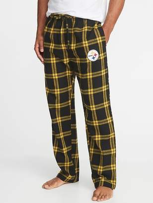 Old Navy NFL® Team-Graphic Flannel Sleep Pants for Men
