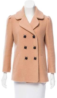 Thakoon Wool Double-Breasted Coat