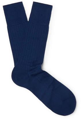 Falke No. 2 Cashmere-Blend Socks - Men - Blue