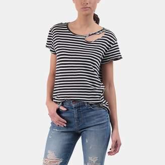 RtA Nicola Distressed Cotton T-Shirt