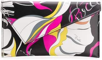 Emilio Pucci Frida Print Envelope Clutch