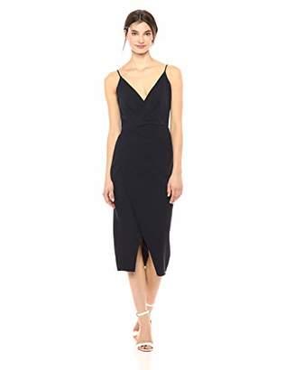 Betsey Johnson Women's Faux Wrap Dress,6