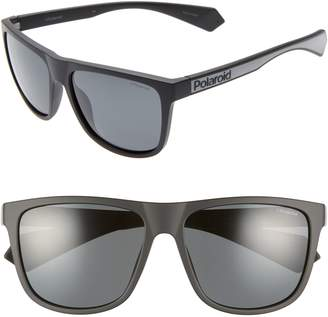 Polaroid Plastic Core 57mm Polarized Sunglasses