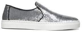 Diane von Furstenberg Budapest Sequined Slip-On Sneakers