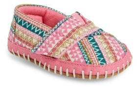 Infant Toms Alpargata Crib Shoe $31.95 thestylecure.com