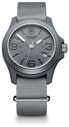 Victorinox Original Nylon Strap Watch, 40mm