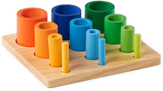 Guidecraft Nesting Sort Stack Cylinders