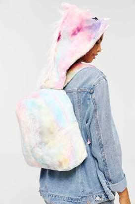 Ardene Faux Fur Unicorn Backpack