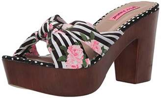 Betsey Johnson Women's Moscow Heeled Sandal