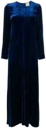 Forte Forte long-sleeve flared maxi dress