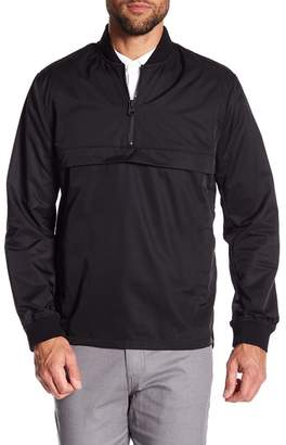 Kenneth Cole New York 1\u002F4 Zip Popover Sweatshirt
