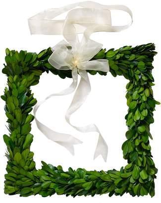 ACCENT DECOR Boxwood Square Wreath