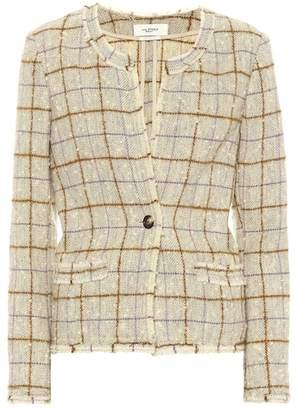 Etoile Isabel Marant Isabel Marant, Étoile Lyra wool-blend tweed jacket