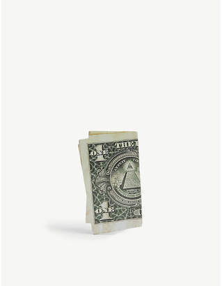 BIIS Dollar bill earring