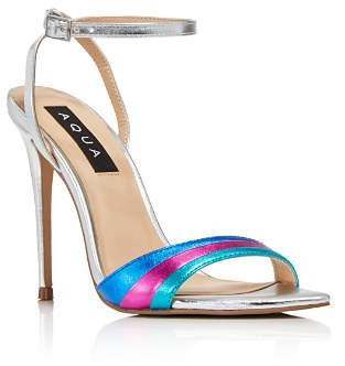 Aqua Women's Kiki Rainbow High-Heel Sandals - 100% Exclusive