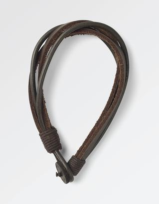 Olly Four Strand Leather Bracelet