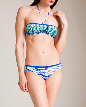 Roberto Cavalli Zandra Rhodes Bandeau Bikini