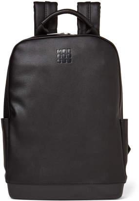 Moleskine Black Classic Leather Backpack