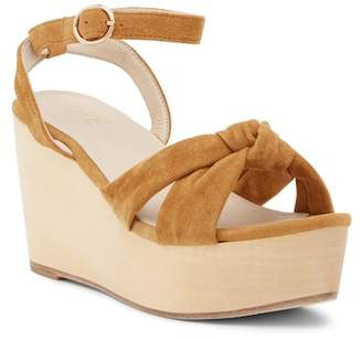 Raye Faye Knotted Platform Wedge Sandal