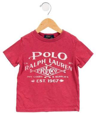 Polo Ralph Lauren Boys' Short Sleeve Graphic Shirt