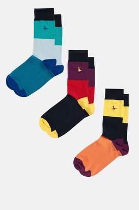 Jack Wills Aymer 3 Pack Socks