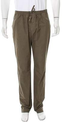 Tomas Maier Flat Front Twill Joggers
