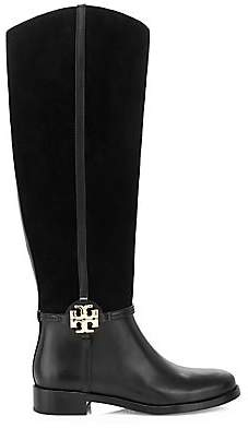 Tory Burch Women's Miller Leather & Suede Tall Boots