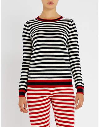 Madeleine Thompson Eadu striped cashmere jumper