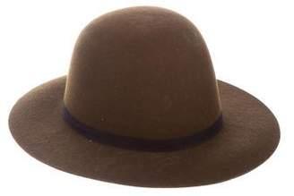 Humanoid Wool Brimmed Hat