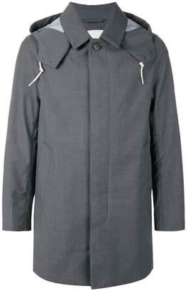 MACKINTOSH concealed front coat