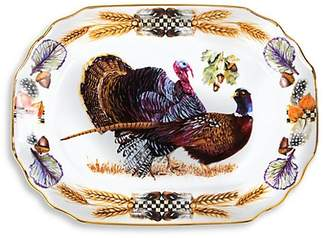 Mackenzie Childs MacKenzie-Childs Pheasant Run Turkey Platter