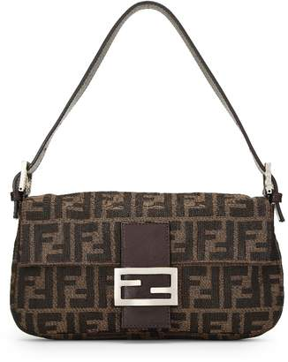 461b0cb52879 Fendi Canvas Tone Bag - ShopStyle