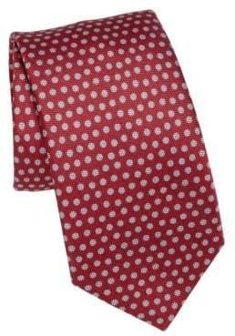 Saks Fifth Avenue COLLECTION Polka Silk Blend Tie