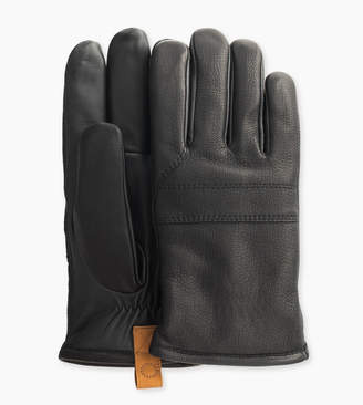UGG Casual Leather Glove With Pull Tab