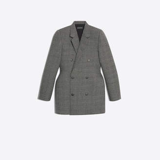 Balenciaga 3D moulded double breasted jacket