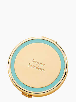 Kate Spade Holly drive let your hair down compact