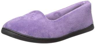 Dearfoams Women's Velour Closed Back Mule